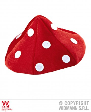 chapeau champignon, chapeau todd, chapeau humour, chapeau amanite tue mouche, chapeau humoristique Chapeau Champignon