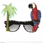 lunettes de déguisement, lunettes de fêtes, lunettes soirée déguisée, accessoires lunettes, lunettes pas chères,lunettes fantaisie, lunettes tropicales, lunettes hawaï, lunettes tropical palmier, lunettes perroquet, lunettes toucan Lunettes Hawaï Tropicales, Toucan