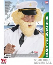 fausse barbe, fausses moustaches, postiche, barbe postiche Barbe Blonde