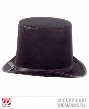 chapeaux haut de forme noir, chapeaux noirs, chapeaux hauts de forme, chapeau haut de forme, chapeaux paris, chapeaux hauts de forme Chapeau Haut de Forme, Maxi, Noir