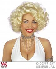 collier de perles, collier perles années 30, collier perles charleston, collier perles cabaret, déguisement charleston, collier années 30, collier perles déguisement, collier perles charleston, accessoires déguisement années 30, accessoires déguisements cabaret, faux collier de perles, collier perles rocaille déguisement Collier Perles de Rocaille, Argent