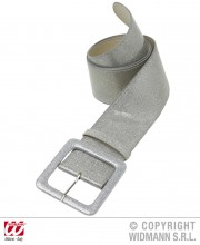 ceinture paillette, ceinture déguisement, accessoire déguisement, ceinture disco, accessoire disco, ceinture soirée disco, ceinture argent Ceinture Paillettes, Argent