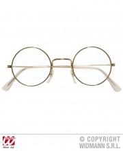 lunettes de déguisement, lunettes de fêtes, lunettes soirée déguisée, accessoires lunettes,lunettes fantaisie, lunettes pas chères, lunettes de père noel, lunettes de vieux, lunettes rondes or Lunettes Cerclées Rondes, Or