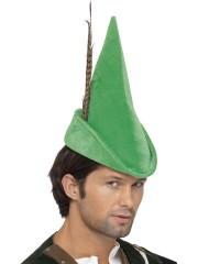 chapeau de robin des bois, accessoires chapeaux, chapeaux à plume, accessoire déguisement robin des bois Chapeau Robin des Bois