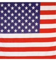 bandana américain, bandana états unis, accessoire américain, soirée américaine, drapeau américain, foulard américain Bandana Etats Unis, Drapeau Américain
