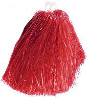 pompon de pom pom girl, pompon de cheerleader, accessoire pom pom girl déguisement, accessoire déguisement pom pom girl Pompon de Pom Pom Girl, Rouge