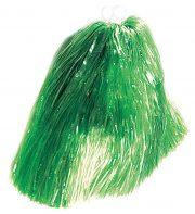 pompon de pom pom girl, pompon de cheerleader, accessoire pom pom girl déguisement, accessoire déguisement pom pom girl Pompon de Pom Pom Girl, Vert
