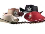chapeau de cowboy enfant, chapeau de cowboy déguisement, déguisement cowboy chapeau, accessoire cowboy déguisement Chapeau de Cowboy, Shérif