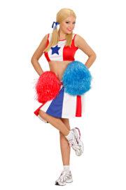 déguisement pompom girl adulte, déguisement cheerleader adulte, costume cheerleader femme, costume pompom girl adulte Déguisement PomPom Girl, Cheerleader