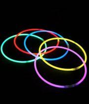 colliers fluos, bracelets fluos, soirée fluo Colliers Fluos, x 25