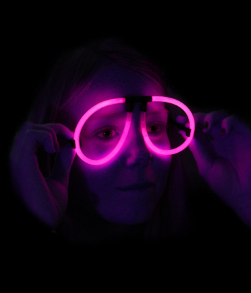 lunettes fluos soire fluo accessoire fluo lunettes fluos aviateur rose - Laque Colorante