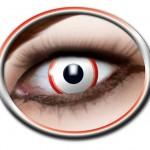 lentilles halloween, lentilles fantaisie, lentilles déguisement, lentilles déguisement halloween, lentilles de couleur, lentilles fete, lentilles de contact déguisement, lentilles blanches, lentilles saw, déguisement saw, lentilles zombie Lentilles Blanches, Saw
