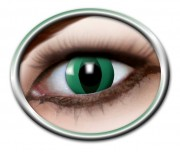 lentilles halloween, lentilles fantaisie, lentilles déguisement, lentilles déguisement halloween, lentilles de couleur, lentilles fete, lentilles de contact déguisement, lentilles vertes, lentilles oeil de chat halloween Lentilles Oeil de Chat, Vertes, Anaconda