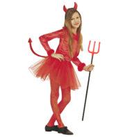 déguisement diable fille, déguisement halloween fille, costume halloween fille, déguisement vampire fille, déguisement vampire halloween, déguisement diablesse enfant halloween Déguisement de Diablesse, Fille