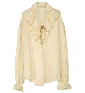 chemise pirate femme, chemise renaissance femme, chemise médiévale, accessoire déguisement médiéval femme, accessoire femme médiévale déguisement, accessoire pirate femme déguisement, accessoire déguisement pirate femme Chemise Pirate, Médiévale et Renaissance, Beige