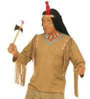 déguisement indien adulte, déguisement indien homme, déguisement tunique d'indien, accessoire déguisement indien, accessoire indien déguisement Déguisement Indien, Tunique Apache