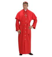 déguisement de cardinal, costume cardinal homme, déguisement cardinal homme, déguisement religieux homme, costume de religieux homme Déguisement Cardinal, Rouge