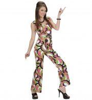 déguisement disco femme, robe disco déguisement, costume disco femme, costume années 80 femme, déguisement années 80 femme, déguisement disco pas cher, déguisement disco femme Déguisement Disco Fever, Combinaison 70 Verte