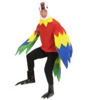 déguisement de perroquet, costume perroquet adulte, déguisement perroquet homme, déguisement oiseau homme, costume animal, déguisement animal homme Déguisement de Perroquet, Combinaison