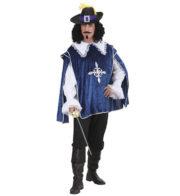 déguisement de mousquetaire, costume mousquetaire homme, tunique mousquetaire adulte, déguisement de mousquetaire Déguisement Mousquetaire, Bleu