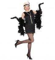 robe charleston déguisement, déguisement charleston, déguisement années 30, robe années 20, costume cabaret, déguisement cabaret femme Déguisement Charleston Fils, Noir