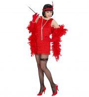 robe charleston déguisement, déguisement charleston, déguisement années 30, robe années 20, costume cabaret, déguisement cabaret femme Déguisement Charleston Fils, Rouge