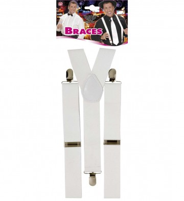bretelles déguisement, bretelles homme, bretelles femmes, bretelles cabaret, bretelles années 30, bretelles blanches Bretelles Blanches
