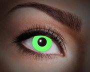 lentilles fluo, lentilles uv,lentilles halloween, lentilles fantaisie, lentilles déguisement, lentilles déguisement halloween, lentilles de couleur, lentilles fete, lentilles de contact déguisement, lentilles vertes fluos Lentilles Fluos, Vertes