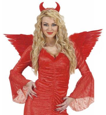 ailes de déguisement, ailes pour se déguiser, ailes d'anges rouges, ailes d'ange rouge, ailes en plumes, ailes rouges,accessoire halloween, ailes de démon Ailes d'Ange en Plumes, Rouges