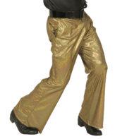 soirée disco, déguisement disco, pantalon pattes d'eph, pantalon disco, accessoire disco déguisement Déguisement Disco, Pantalon Doré
