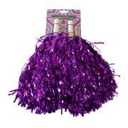 pompon de pom pom girl, pompon de cheerleader, accessoire pom pom girl déguisement, accessoire déguisement pom pom girl Pompons de Pom Pom Girl, Métallisés, Rose Fuchsia