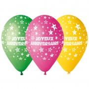 ballons joyeux anniversaires, ballons anniversaires Ballon en Latex, Joyeux Anniversaire