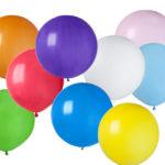 ballons latex, ballon anniversaire, ballons de baudruche, ballons hélium, ballons ronds, ballons 50 cm Ballon en Latex, Multicolores 50 cm
