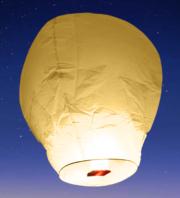 lanterne volante, lanterne thaïlandaise,lanterne chinoise, lampion volant, lanterne volante sky lantern, lanterne volante asiatique, lanterne volante pour lâcher de lanterne Lanterne Volante, Blanche
