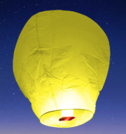 lanterne volante, lanterne thaïlandaise,lanterne chinoise, lampion volant, lanterne volante sky lantern, lanterne volante asiatique, lanterne volante pour lâcher de lanterne Lanterne Volante, Jaune