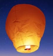 lanterne volante, lanterne thaïlandaise,lanterne chinoise, lampion volant, lanterne volante sky lantern, lanterne volante asiatique, lanterne volante pour lâcher de lanterne Lanterne Volante, Orange