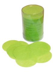 confettis de scène, confettis papier de soie, gros confettis, confettis de scène ronds Confettis de scène, Ronds, Vert Pomme