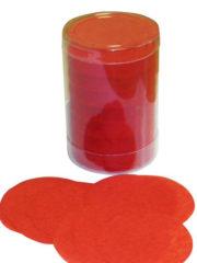 confettis de scène, confettis papier de soie, gros confettis, confettis de scène ronds Confettis de Scène, Ronds, Rouges