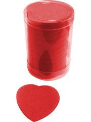 confettis de scène, confettis papier de soie, gros confettis, confettis de scène coeurs Confettis de Scène, Coeurs, Rouges