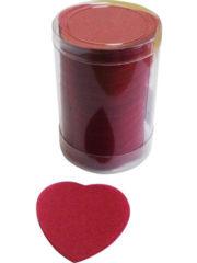 confettis de scène, confettis papier de soie, gros confettis, confettis de scène coeurs Confettis de Scène, Coeurs, Rouge Bordeaux