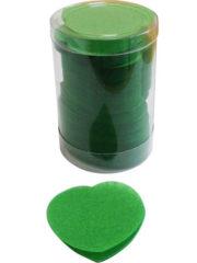 confettis de scène, confettis papier de soie, gros confettis, confettis de scène coeurs Confettis de Scène, Coeurs, Vert Prairie