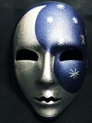 masque vénitien, masque visage, masque lune Masque Viso, Lune
