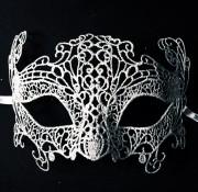 masque vénitien, loup vénitien, masque carnaval de venise, véritable masque vénitien, accessoire carnaval de venise, déguisement carnaval de venise, loup vénitien fait main, masque en dentelle, loup en dentelle venise Vénitien, Burano Argent