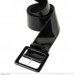 ceinture vinyle noir Ceinture Vinyle, Noire
