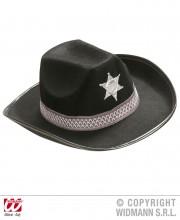 chapeau de cowboy, chapeaux de cowboy, chapeaux de cow boy, accessoires déguisements cowboys Chapeau de Cowboy, Etoile et Liseré