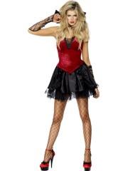 déguisement vampire femme, déguisement halloween femme, costume halloween femme, costume halloween adulte, costume vampire femme, déguisement halloween adulte Déguisement Vampire Diablesse Sexy