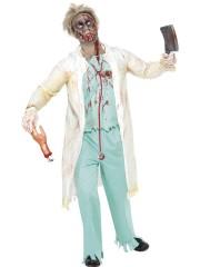 déguisement de chirurgien, déguisement chirurgien homme, costume chirurgien, déguisement de chirurgien zombie, déguisement halloween, déguisement chirurgien halloween Déguisement Médecin, Chirurgien Zombie