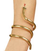 bracelet serpent égyptien, bracelet déguisement cléopatre, bijoux de déguisement, bracelet de fête, bracelet égypte pas cher, bracelet tour de bras pas cher Bracelet Egyptien Serpent