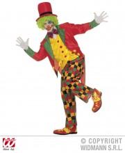 déguisement clown homme, costume clown homme, déguisement clown adulte, accessoire clown déguisement Déguisement Clown Popov