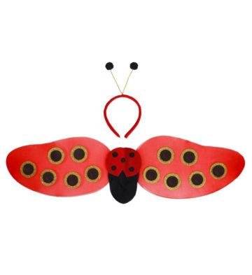 ailes de déguisement, ailes pour se déguiser, ailes de coccinelle Ailes de Coccinelle